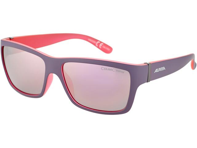 Alpina Kacey Aurinkolasit, nightshade matt-pink/rose-gold mirror